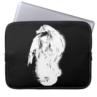 Black & White Dragon Laptop Sleeve