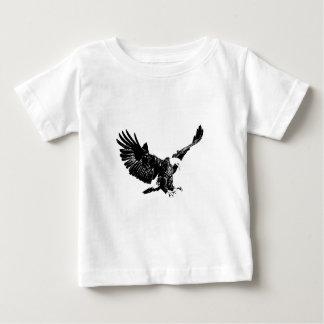 Black & White Eagle Baby T-Shirt
