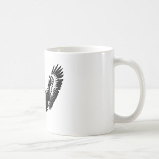 Black & White Eagle Coffee Mug