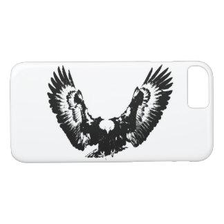Black & White Eagle iPhone 8/7 Case