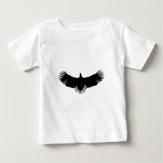 Black & White Eagle Silhouette Baby T-Shirt