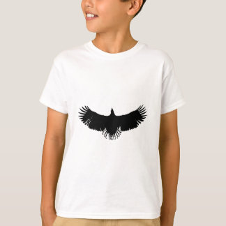 Black & White Eagle Silhouette T-Shirt