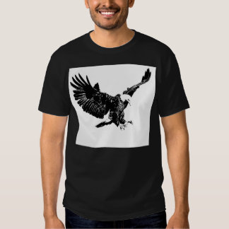 Black & White Eagle Tees