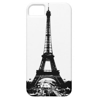 Black White Eiffel Tower iPhone 5 Cover
