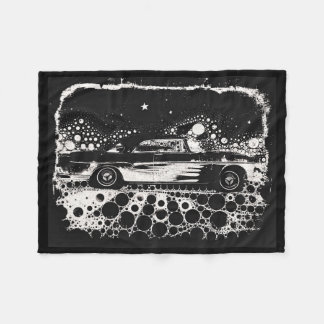 Black & White Flamed Classic Blanket