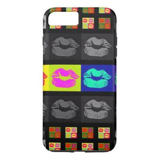 Black&White Florescent Lips iPhone 7 Plus Case