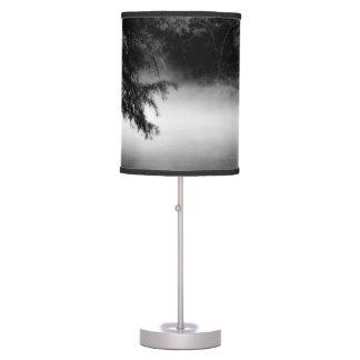 Black & White Foggy River Lamp