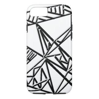 Black & White Geometry iPhone 7 Case