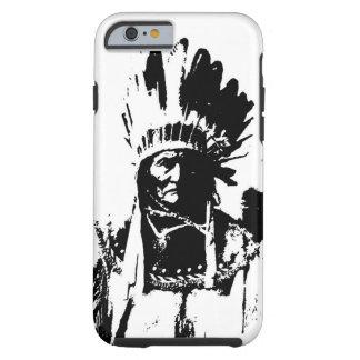 Black & White Geronimo Tough iPhone 6 Case