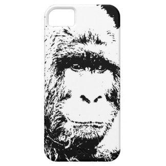 Black & White Gorilla iPhone 5 Case