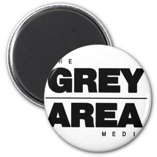 Black/ White Grey Area Apparel Magnet