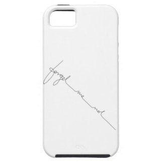 Black & White Handwriting Calligraphy IPhone case
