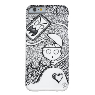 Black White Ink Hand-Drawn Phone Case