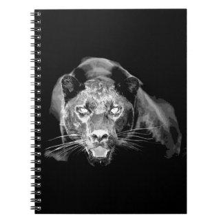 Black & White Jaguar Notebooks