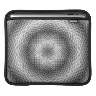 Black & White Kaleidoscope Ipad Sleeve