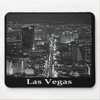 Black & White Las Vegas Strip Mousepad