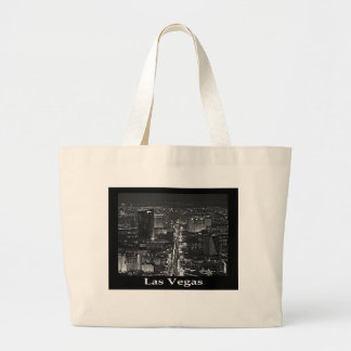 Black & White Las Vegas Tote Bag