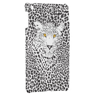 Black & White Leopard Camouflaged In Spots Pattern iPad Mini Cover