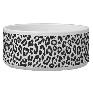 Black & White Leopard Print Animal Skin Patterns