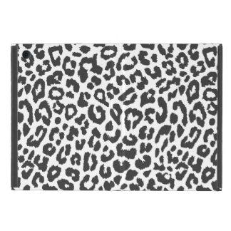 Black & White Leopard Print Animal Skin Patterns Case For iPad Mini