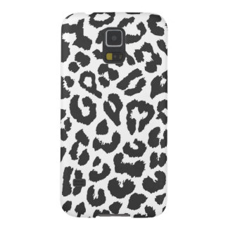 Black & White Leopard Print Animal Skin Patterns Cases For Galaxy S5