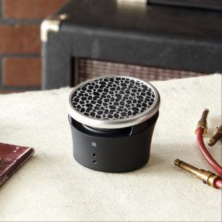 Black White Leopard Speaker