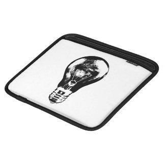 Black & White Light Bulb - Tablet Sleeve
