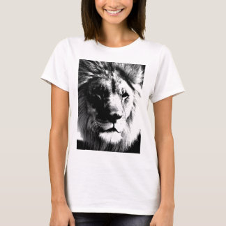 Black & White Lion T-Shirt