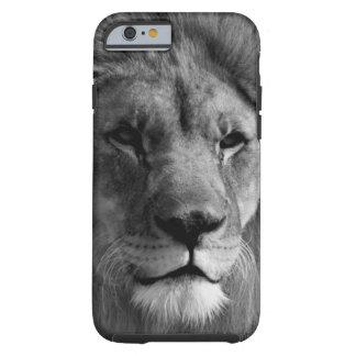 Black & White Lion Tough iPhone 6 Case