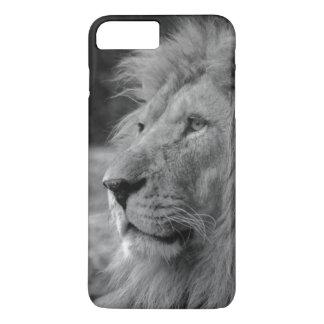 Black & White Lion - Wild Animal iPhone 8 Plus/7 Plus Case