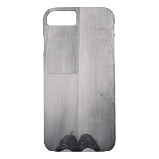 """Black & White """"Lonely Shoes"""" Phone Case"""