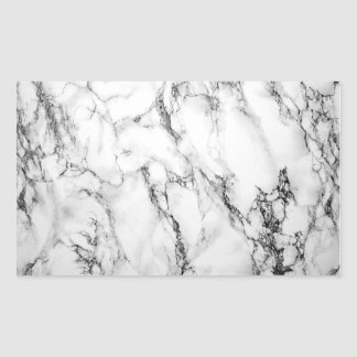Black & White Marble Sticker