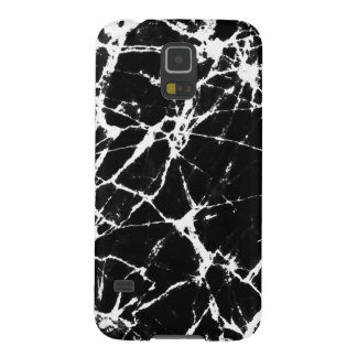Black & White Marble Stone Galaxy S5 Cover