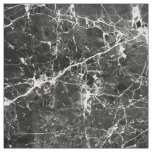 Black white modern chic marble texture patterns fabric