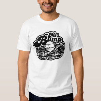 Black & White Mr. Bump Tshirts