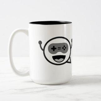 Black/White Mr. Chillout Logo Mug