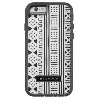 Black | White MudCloth Inspired Tough Xtreme iPhone 6 Case