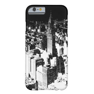Black & White New York Barely There iPhone 6 Case