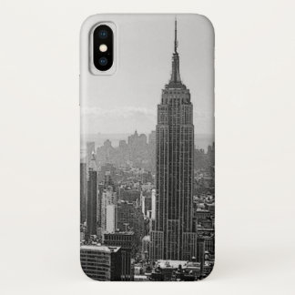 Black & White New York City iPhone X Case