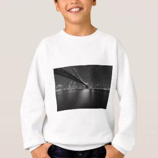 Black White New York City Skyline Sweatshirt