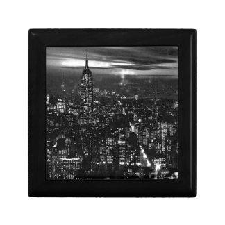 Black & White New York City Trinket Boxes