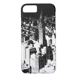 Black & White New York iPhone 7 Case