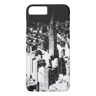 Black & White New York iPhone 7 Plus Case