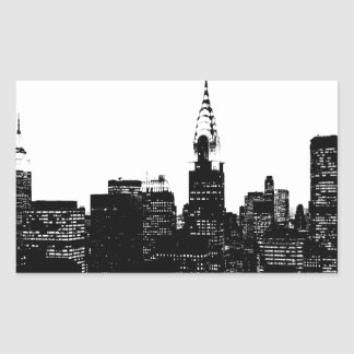 Black & White New York Silhouette