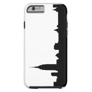Black & White New York Silhouette Tough iPhone 6 Case