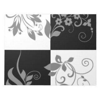 Black & white notepad