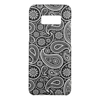 Black & White Paisley Pattern Case-Mate Samsung Galaxy S8 Case