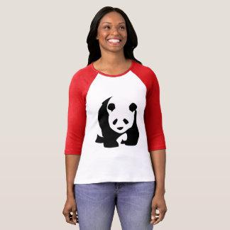 Black & White Panda Bear T-shirt