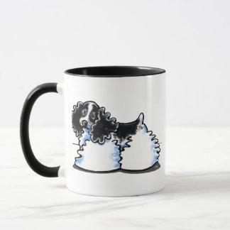 Black White Parti Cocker Spaniel Mug