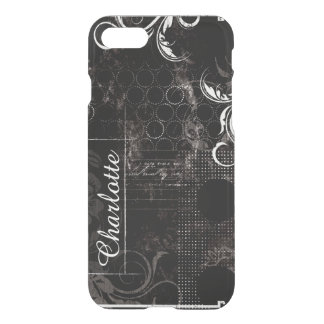 Black White Patchwork Uncommon Case for iPhone